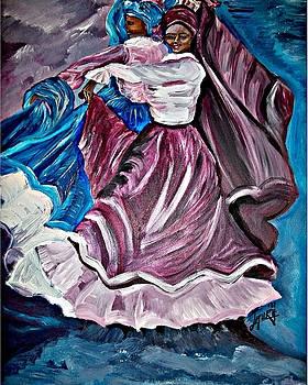 Dancing Sisters by Laura Fatta