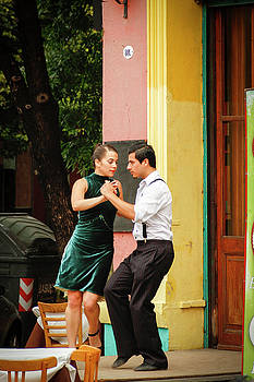Dancing Tango by Silvia Bruno