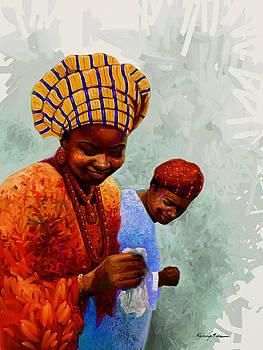 Kanayo Ede - Dancing Time - Colorful African Couple Dancing