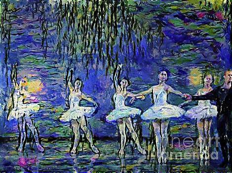 Dancing to Bizet in a Monet Garden by Nina Silver