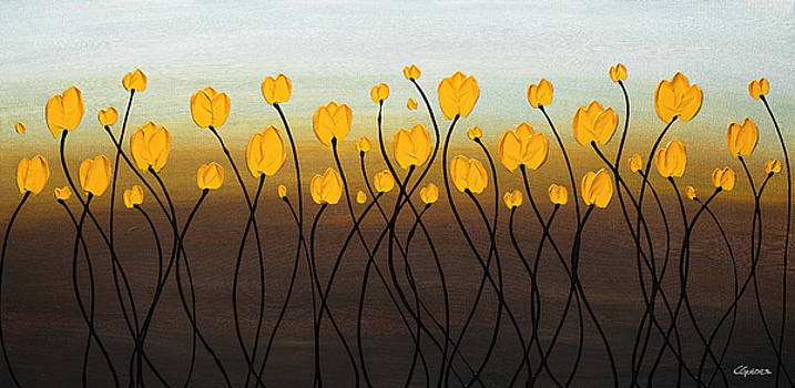 Dancing Tulips by Carmen Guedez