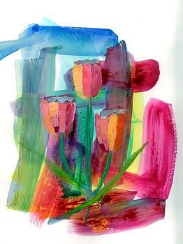 Dancing Tulips by Marsden Burnell