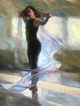 Dancing with Gossamer by Anna Rose Bain