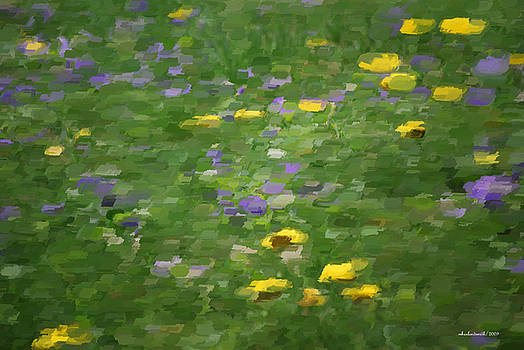 Michelle  BarlondSmith - Dandelion and Violets Impression