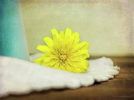 Dandelion Still Life by Melissa Bittinger