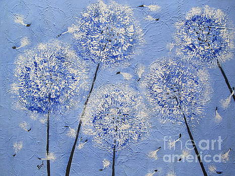 Dandelions In The Wind by Beverly Livingstone