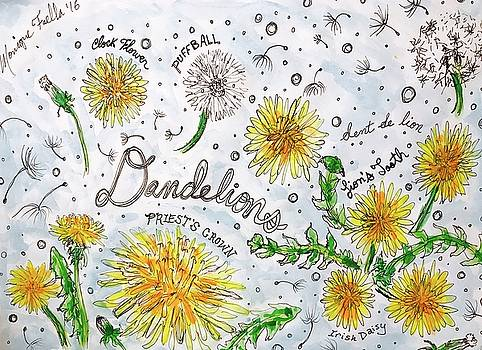 Dandelions by Monique Faella
