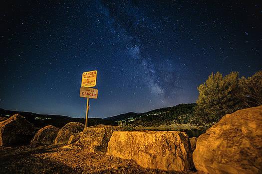 Danger Milky Way by Baptiste De Izarra