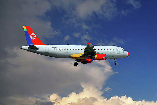 Danish Air Transport Airbus A320-233 by Nichola Denny