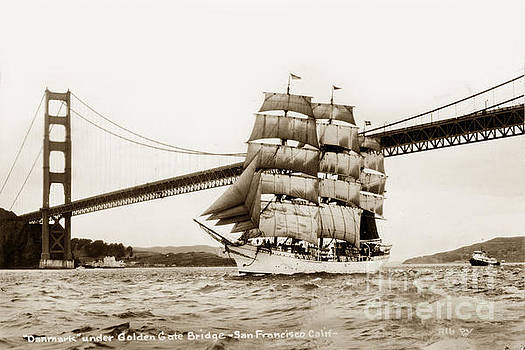 California Views Mr Pat Hathaway Archives - Danmark sailing under the Golden Gate Bridge San Francisco