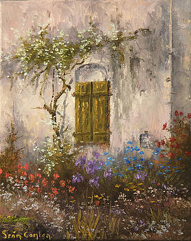 Dans Le Jardin by Sean Conlon