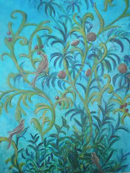 Dans mon jardin 1 by Margot Koefod