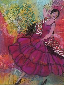 Danseur de L'Espagne by Elizabeth Bogard