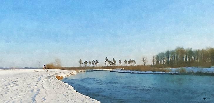 Danube at Binzwangen by Wolfgang Schweizer