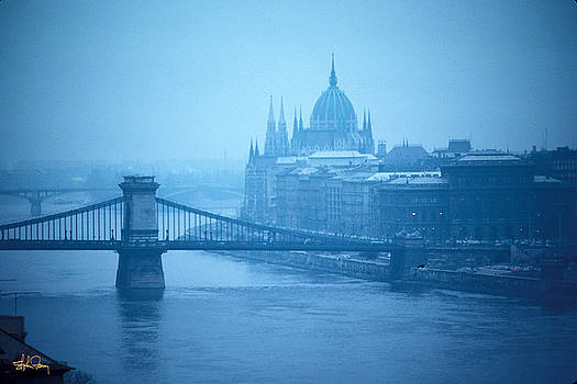 Danube River in Budapest by Stephen Fanning