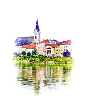 Dennis Cox WorldViews - Danube Village