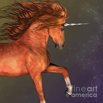 Dapple Chestnut Unicorn by Corey Ford