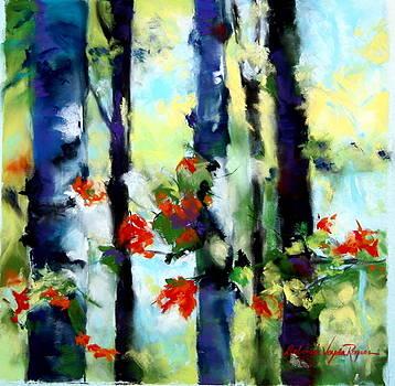 Dappled Birch by Deborah Voyda Rogers