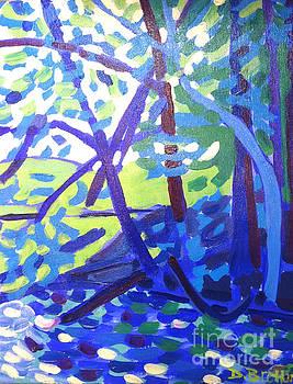 Dappled Sunshine Nashua River by Debra Bretton Robinson