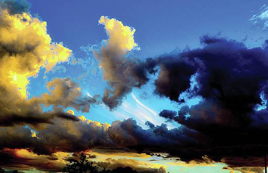 Dark And Dusty Skies  by Naomi Burgess