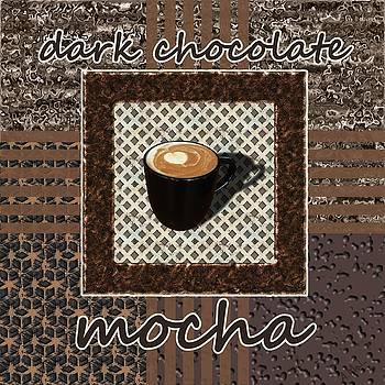 Dark Chocolate Mocha - Coffee Art by Anastasiya Malakhova