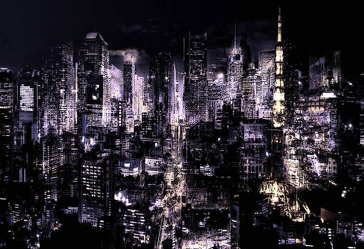 Dark City III by Neil Hemsley