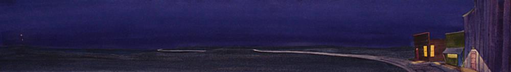 Dark, Dark Night in Prairie Town by Scott Kirby