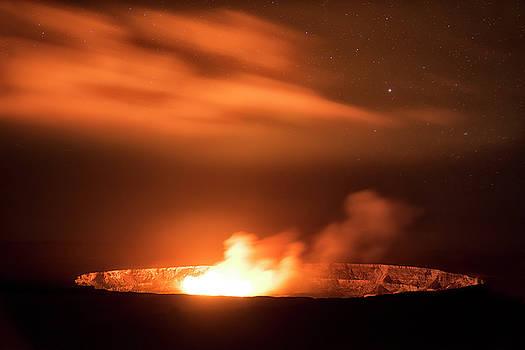 Dark Eruption  by Nicki Frates