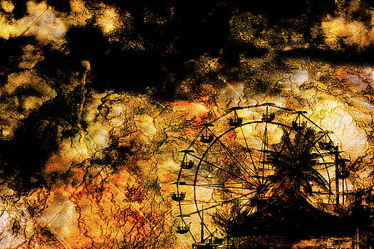 Dark Ferris Wheel by Don Gradner
