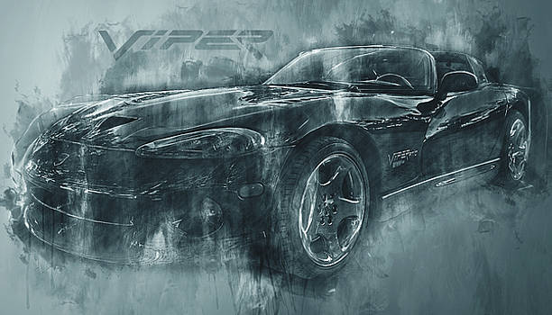Ray Van Gundy - Dark Grunge Dodge Viper