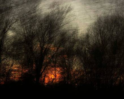 Dark Sunset by Gerald Grow