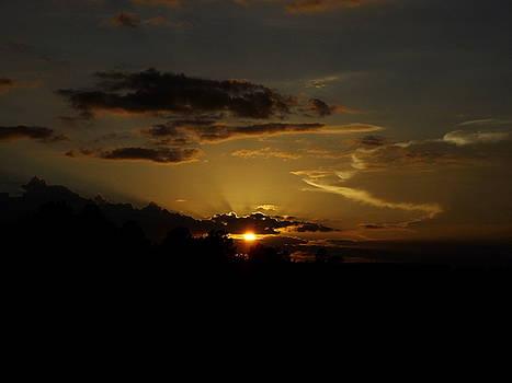 Dark Sunset by Julie Pappas
