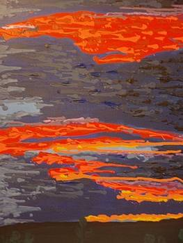 Dark Sunset by Samuel Freedman