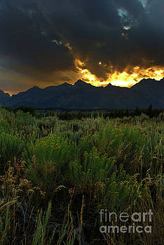 Dark Sunset by Steve Triplett