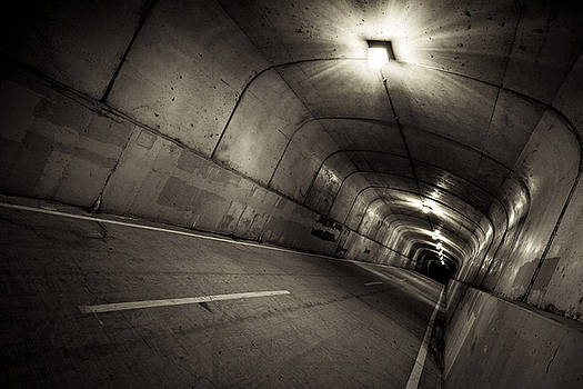 Dark Tunnel by Jackie Novak