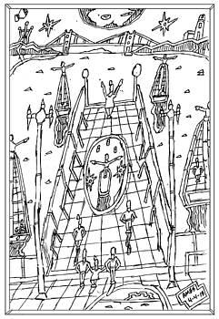 Darkies on the Pier. by Anthony Benjamin