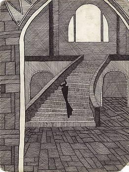 Darkness Decending by Geoffroy Dextraze