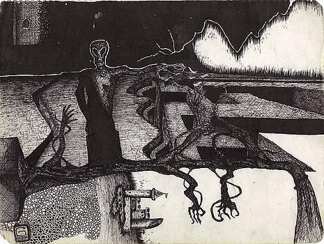 Darkness III by Geoffroy Dextraze