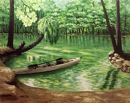Darryls Kayak by Beth Waltz