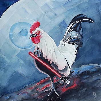 Darth Chicken by Kirsten Beitler