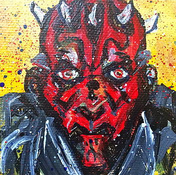 Darth Maul by Mary Gallagher-Stout