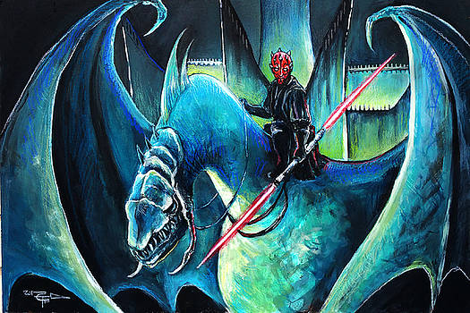 Darth Maul The Witch King by Tom Carlton
