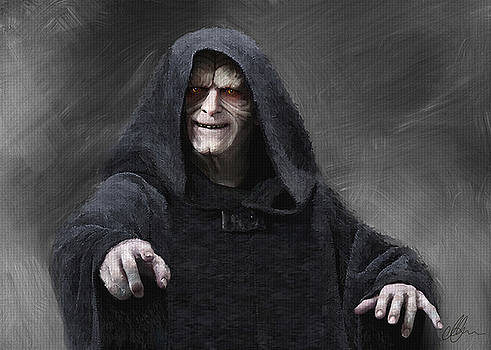 Darth Sidious, Palpatine by Michael Greenaway