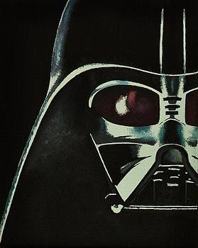 Darth Vader Oil Painting by Brian Duey