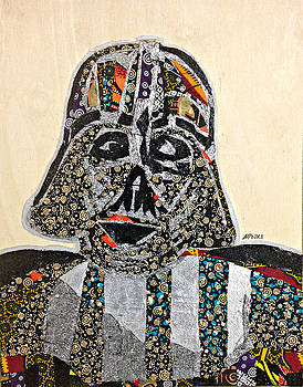 Darth Vader Star Wars Afrofuturist Collection by Apanaki Temitayo M
