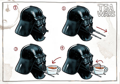 Martin Davey - Darth Vader Tea Drinking Star Wars