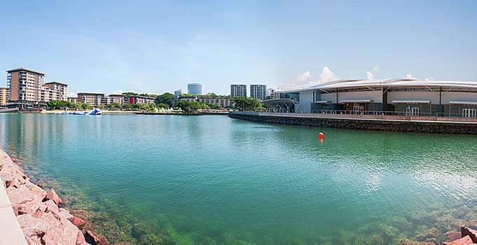Darwin Waterfront Panorama by Daniela Constantinescu