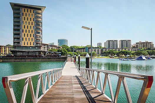 Darwin Waterfront Wharf, Northern Territory, Australia by Daniela Constantinescu