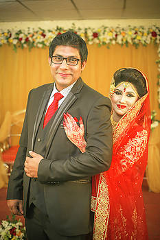 Daughter's marriage reception by Shah Aziz