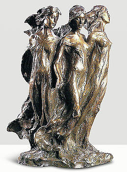 Daughters Of Odessa Maquette by Frederick Hart